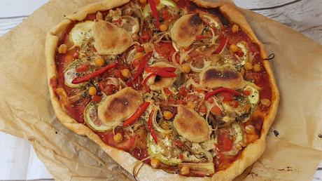 Queso mozzarella vegano para pizzas