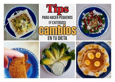 alimentacion y los cambios en la dieta
