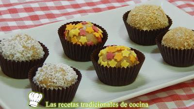 Receta fácil de deliciosas bolitas dulces de galleta