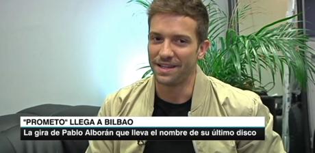 [VÍDEO] Entrevista a Pablo Alborá antes del Tour Prometo Bilbao en Teleberri