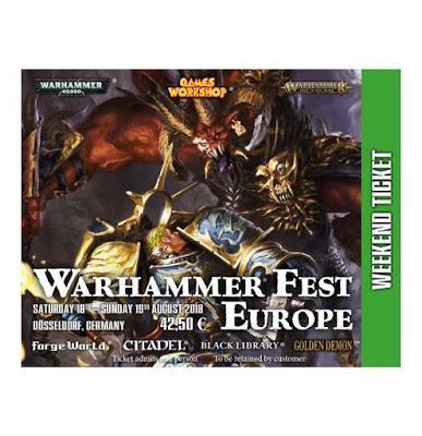 Alfarius Omegon en pre-pedidos en FW y mas cosas (Warhammer Fest Europe 2018)