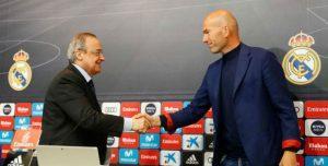 Zizou se despide del Madrid