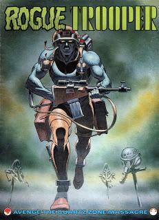 Rogue Trooper, el juego de tablero de GW (1987)