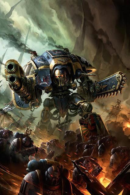 Pre-pedidos de esta semana en GW: Knights Imperiales (Parte II y final)