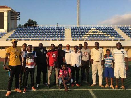 La Escuela de Fútbol Base AFA Angola forma nuevos entrenadores para la Academia