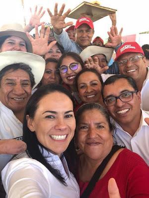 LOS GOBIERNOS DEL PRI TRABAJAN PARA TODOS LOS MEXIQUENSES: ALEJANDRA DEL MORAL