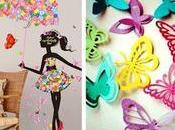 Ideas cómo decorar hermosas mariposas papel