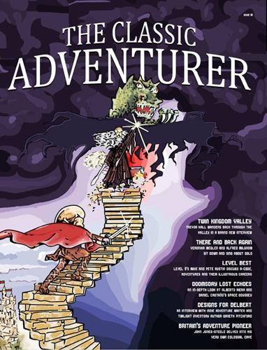 Ya se puede descargar el primer ejemplar de la revista The Classic Adventurer