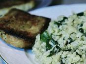Ensalada arroz espinacas, atun guacamole
