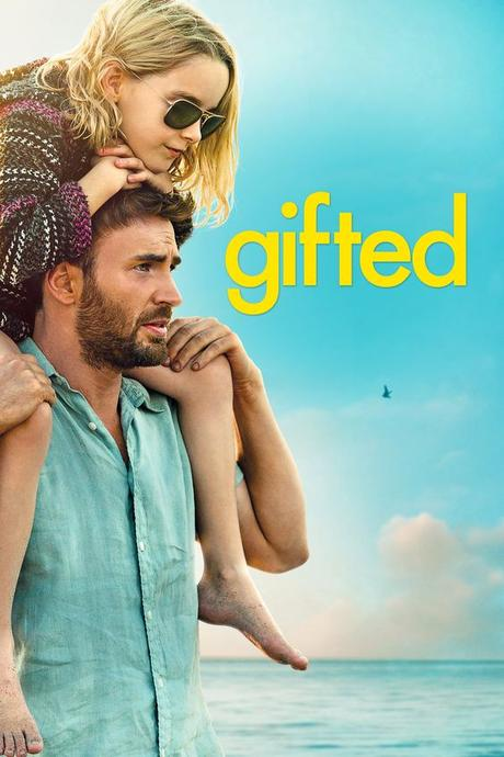 Gifted movie poster - #poster, #bestposter, #fullhd, #fullmovie, #hdvix, #movie720pFrank, a single man raising his child prodigy niece Mary, is drawn into a custody battle with his mother.