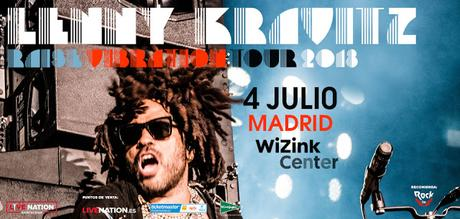 LENNY KRAVITZ EN CONCIERTO. Madrid WiZink Center