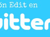 buena idea editar tweets publicados