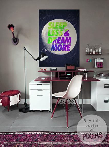 ideas-para-decorar-con-posters4 IDEAS PARA DECORAR CON POSTERS: PIXERS