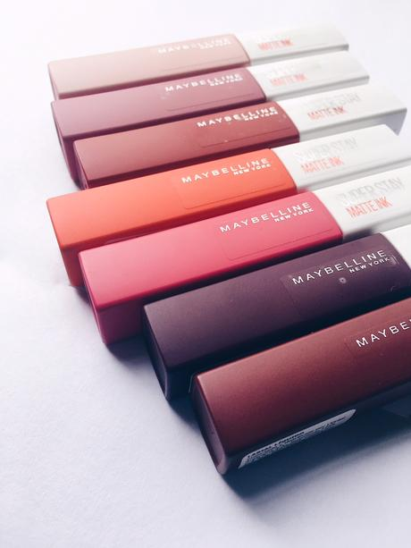 SuperStay Matte Ink de Maybelline: alta cobertura, alta duración y cero transferencia.
