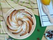 Bundt cake limón, queso miel