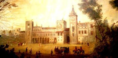 Edificio del Palacio del Real, en Valencia, derruido en el siglo XIX