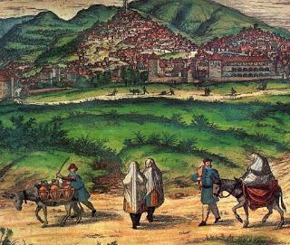 Camino de Valencia a Zaragoza, que cruza la sierra de la Calderona.