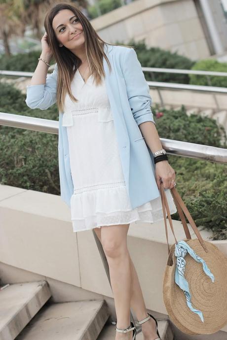 Como Combinar Un Vestido Blanco De Topitos Paperblog