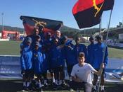 Arousa 2018. Escuela Fútbol Base Angola debuta victoria