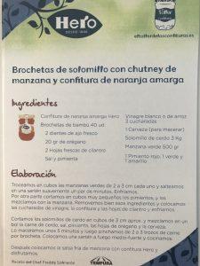 Brochetas de solomillo con mermelada y mas recetas!