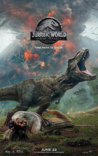 Jurassic Word el reino caido: humano versus predator