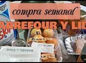 compra semanal CARREFOUR LIDL VUELVE chequeahorro!!!