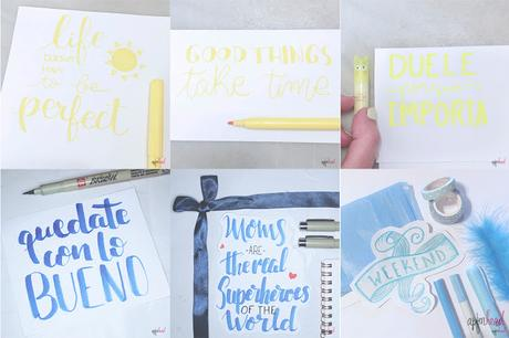 Resumen: Reto raimbow de lettering