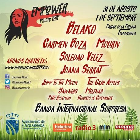 Reivindicación femenina en el Empower Music Fest con Belako, Carmen Boza, Joana Serrat, Soledad Vélez, Mourn...