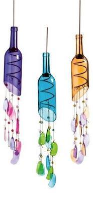 Aprende cómo hacer campanas de viento con botellas recicladas