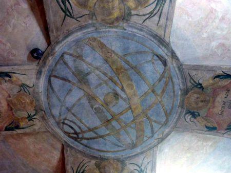 Los frescos astronómicos del Palacio Sternberg en Praga