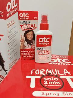 Probando OTC antipiojos Fórmula Total