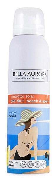 Batalla de protectores Solares en aerosol