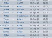 Calendario Atlas apertura 2018 futbol mexicano