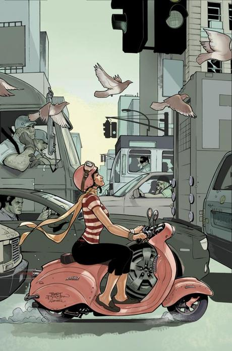 Ilustraciones de Superheroes de Terry Dodson