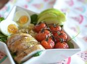 Ensalada quinoa pollo
