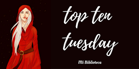 Top Ten Tuesday #46: Series o Sagas de mis tormentos