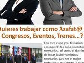 Curso Azafata Congresos, Eventos Tripulante Tren