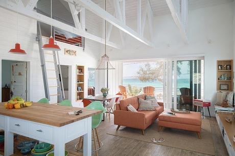 Casa de Vacaciones Rustica y Colorida