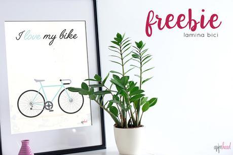 Freebie: Lámina bici
