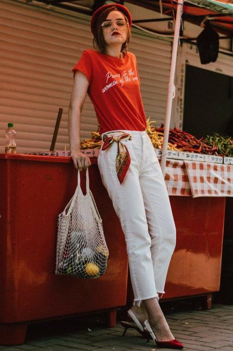 Cómo combinar una bolsa de red o net bag | IN FRONT ROW STYLE