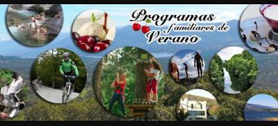 Oferta de verano para familias en el Valle del Jerte. Agosto y septiembre.