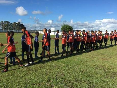 Nueva victoria de la Academia en Brasil. 2-0 a la Selección de Maragojipe.