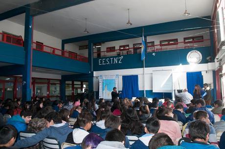 JORNADA DE DISERTACION ANTARTICA PARA ALUMNOS DE NIVEL SECUNDARIO