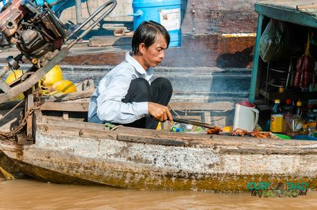 Can Tho (Capital del Mekong) y su Mercado Flotante