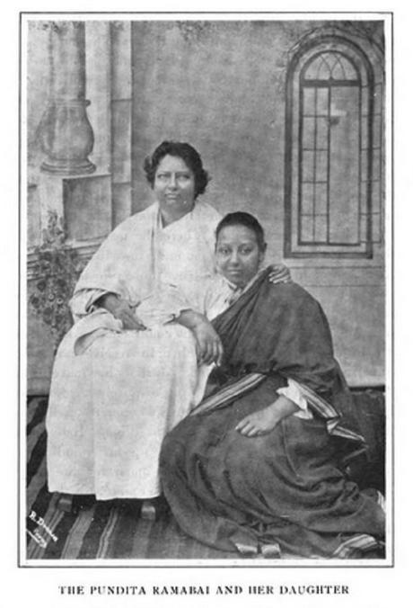 Ayudando a las mujeres hindúes, Pantita Ramabai (1858-1922)