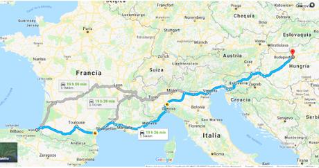 Viajar a Hungría en coche desde España (I)