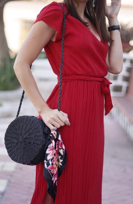 La elegancia se viste de rojo