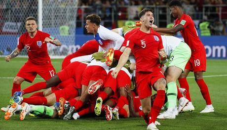 En los penales, Inglaterra venció a Colombia y aseguró su pase a los cuartos de final del Mundial Rusia 2018 | Fotos: EFE