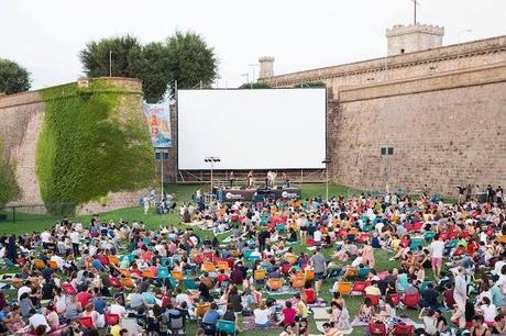 cine de verano Barcelona montjuic