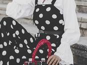 looks: polka dots jumpsuit+haul rebajas zara